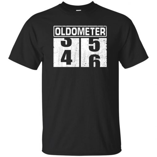 Oldometer 45-46 Funny 46th Birthday Gifts T-shirt 46 Years Old