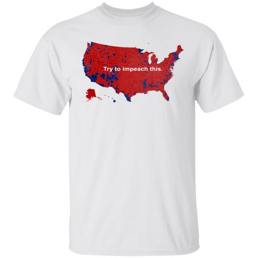 Try to impeach this T-shirt 2016 map tweeted by Donald Trump